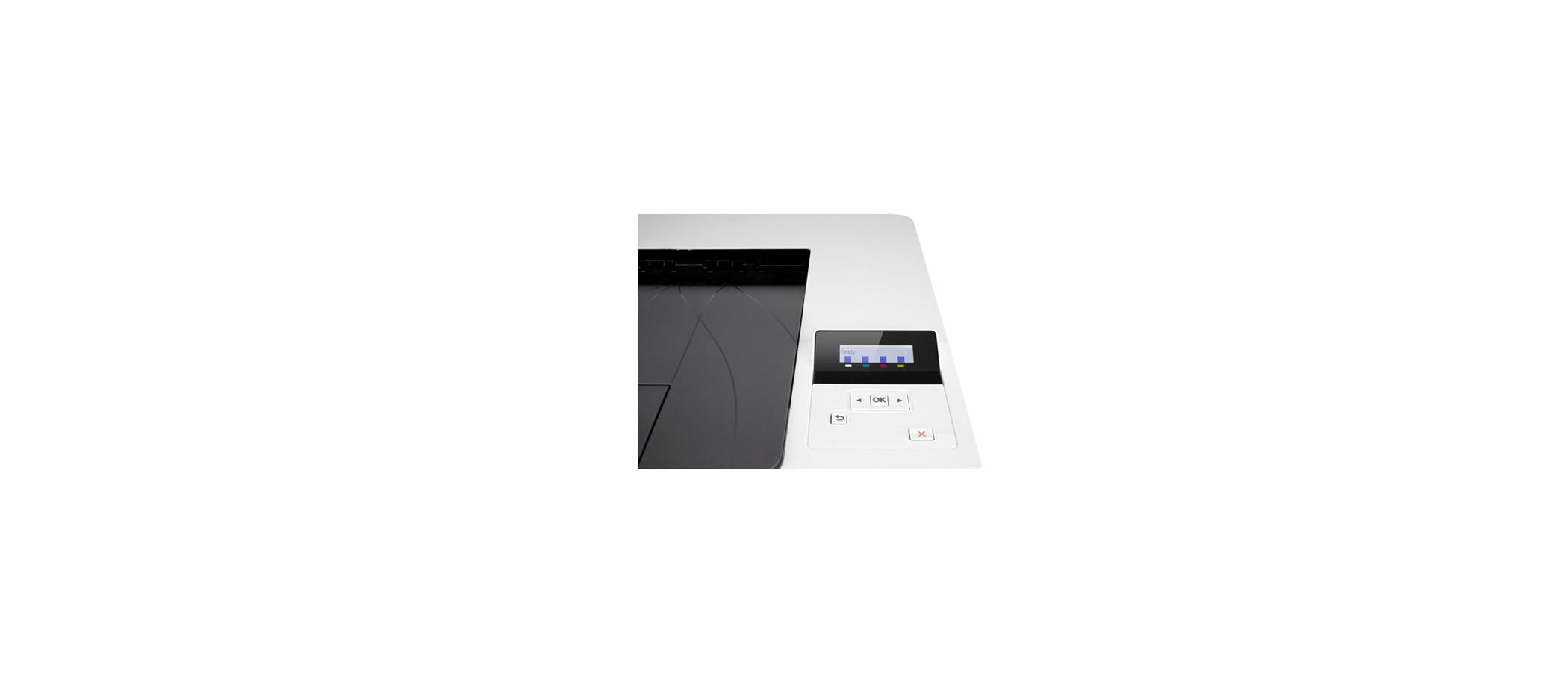 تصویر صفحه نمایش پرینتر رنگی اچ پی M252n