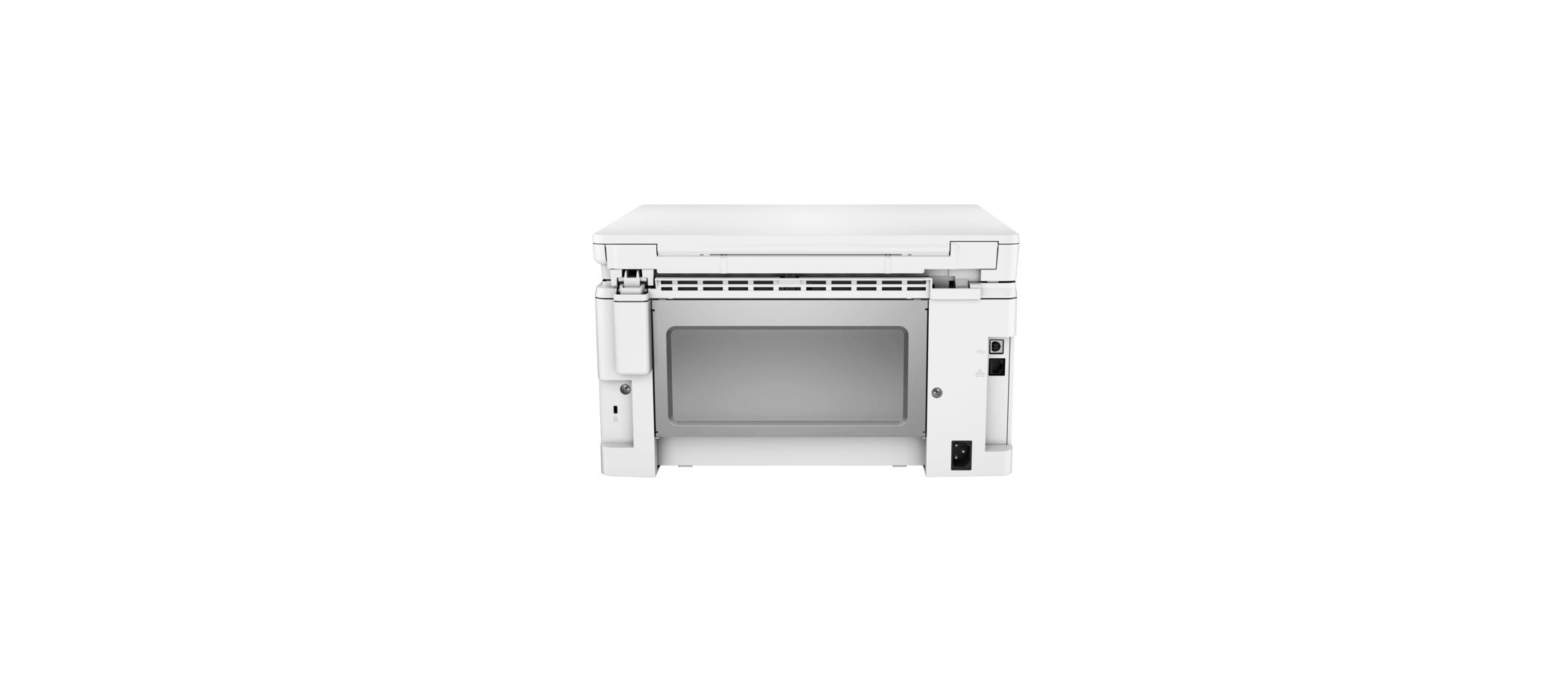 تصویر بخش اتصالات HP M130nw