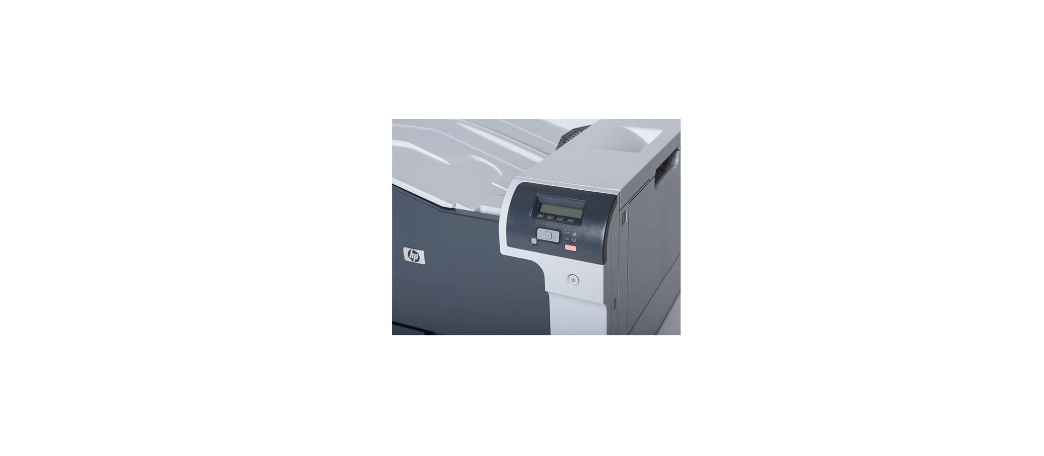 بخش صفحه نمایش پرینتر لیزری hp 5225n