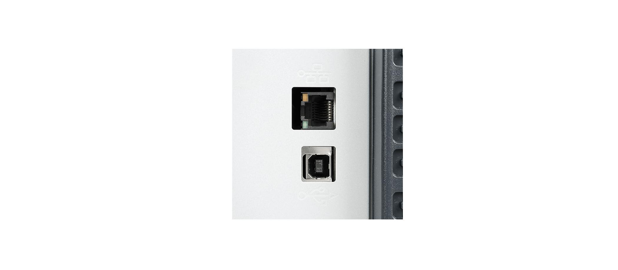 تصویر درگاه های اتصال hp 5225n - پرینتر لیزری