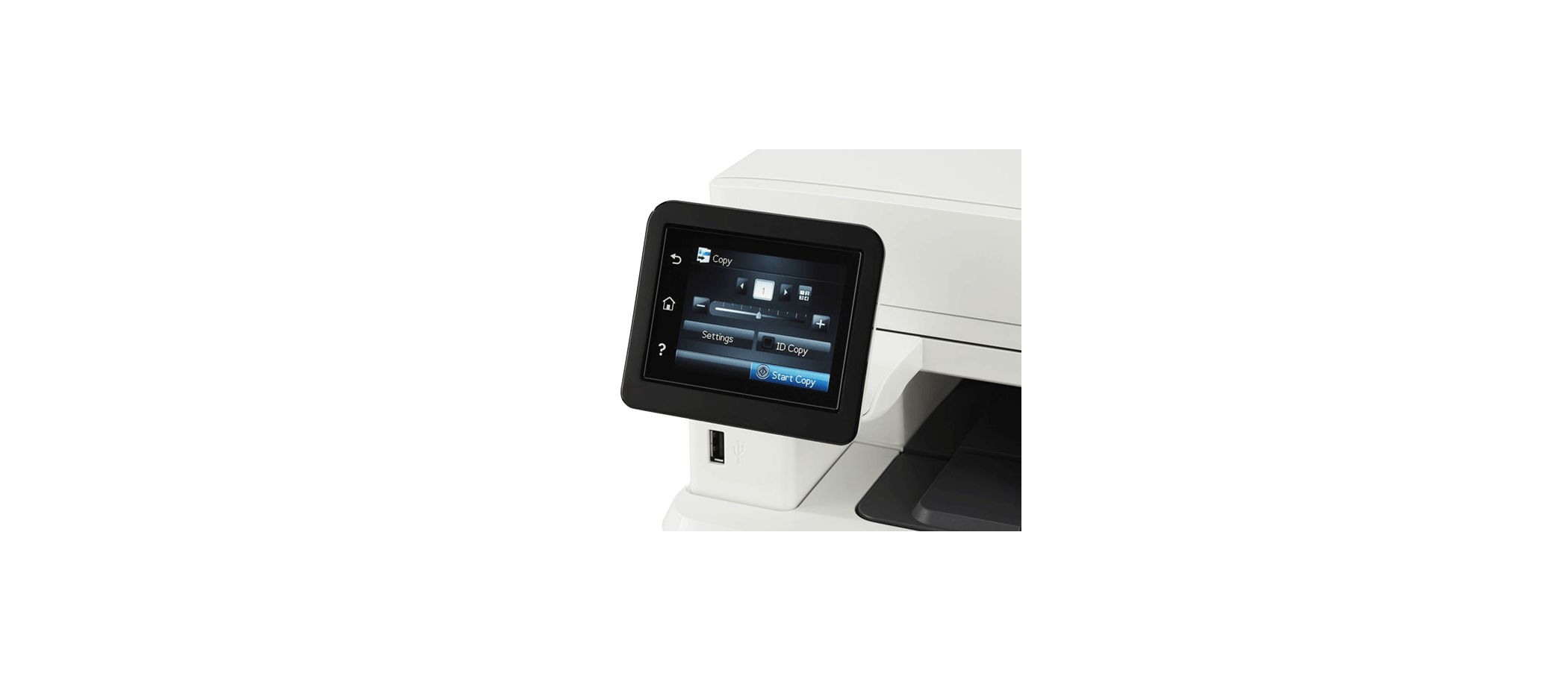 تصویر صفحه نمایش لمسی رنگی 3 اینچی مشخصات پرینتر 426fdn اچ پی