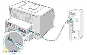 روش نصب پرینتر و راه اندازی از طریق اتصال کابل