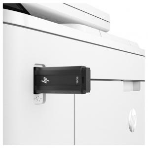 تصویر اتصال حافظه فلش به چاپگر
