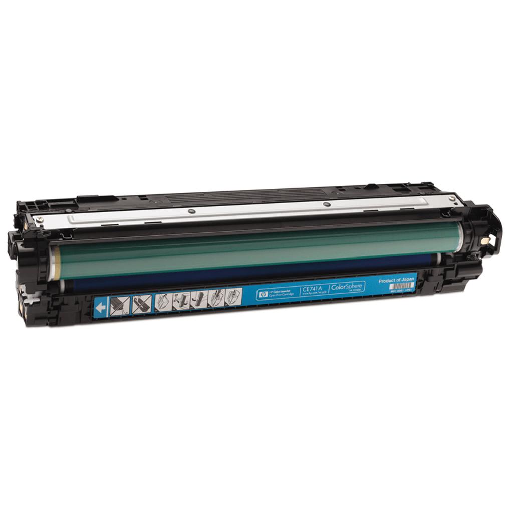 کارتریج اچ پی 307A رنگ آبی HP 307A Cyan Cartridge طرح فابریک