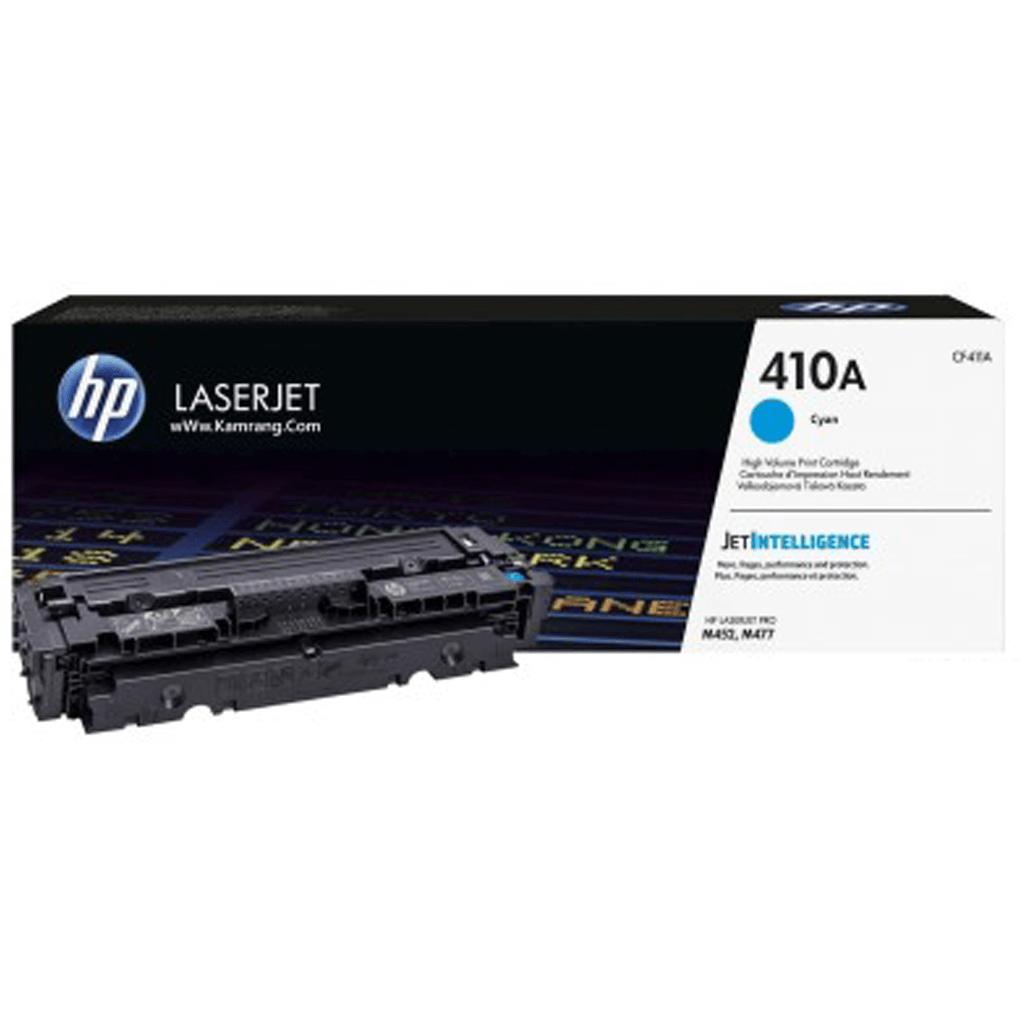 کارتریج لیزری اچ پی 410A رنگ آبی HP 410A Cyan Cartridge