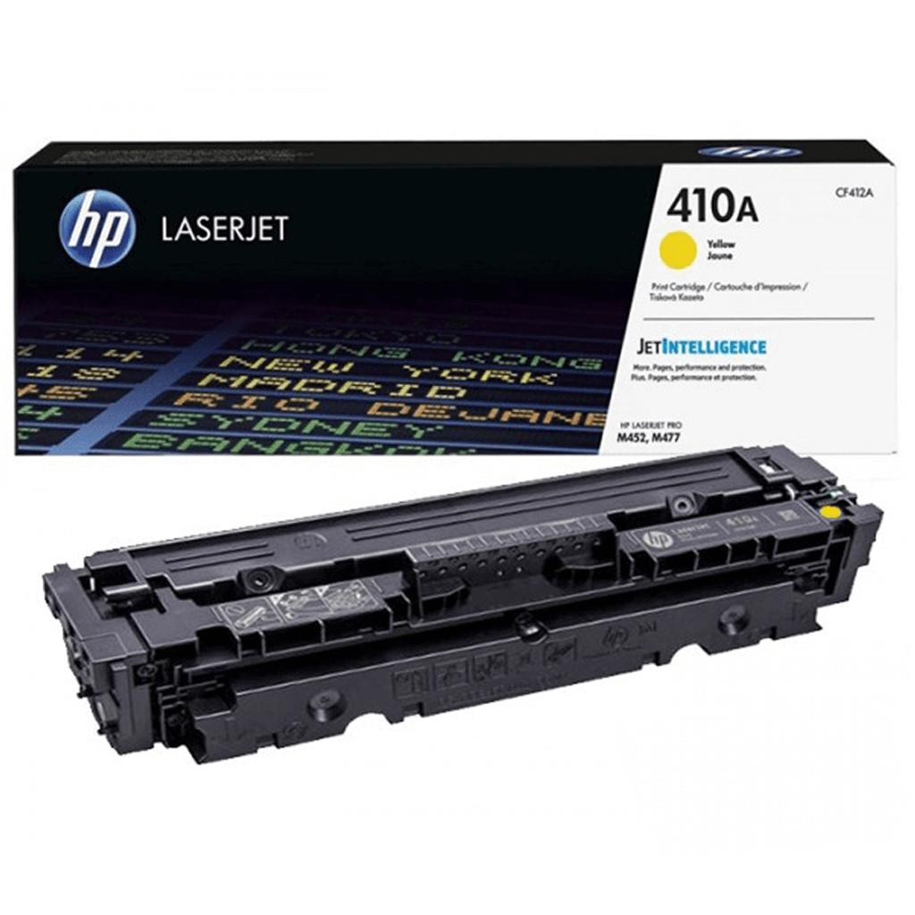کارتریج اچ پی 410A رنگ زرد HP 410A Yellow Cartridge