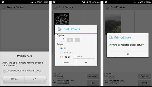 برنامه printshare و مرحله انجام تنظیمات قبل از پرینت