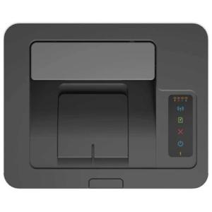 تصویر بخش خروجی و پنل لمسی پرینتر لیزری رنگی اچ پی مدل 150nw
