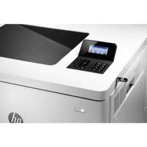 تصویر طراحی صفحه نمایش پرینتر HP M553n