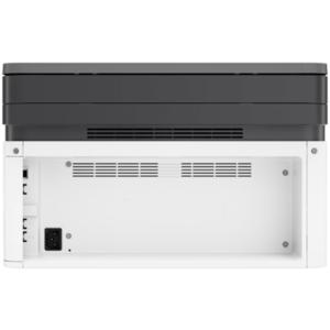 نمای پشت و درگاه های اتصال hp 135w printer