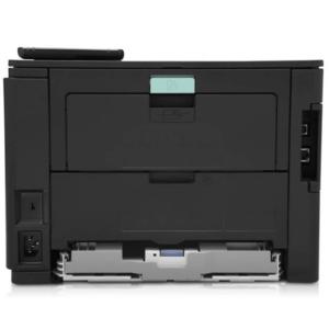 نمای پشت و درگاه های اتصال چاپگر